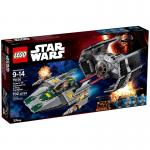 LEGO Star Wars 75150 Vader's TIE Advanced vs. A-Wing Starfighter (Repack)