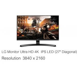 "LG Monitor Ultra HD 4K IPS LED (27"" Diagonal)"