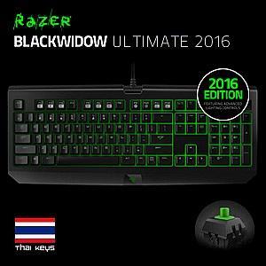 RAZER KEYBOARD BLACKWIDOW ULTIMATE THAI 2016 EDITION : RZ03-01702600-R3V1