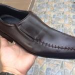 รองเท้าหนังใส่ทำงาน สี Dark brown