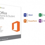 Microsoft Office Home & Student 2016 Eng Medialess