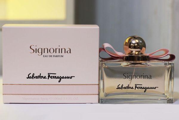 น้ำหอม Signorina EDP by Salvatore Ferragamo 100 ml. - พาฟินเพอร์ฟูม | ขาย น้ำหอมแท้ ราคาถูก มีกล่อง เครื่องสำอาง จากเคาเตอร์ ป้ายไทย  ไม่แท้ยินดีคืนเงิน 2 เท่า : Inspired by LnwShop.com