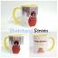 แก้วเซรามิคสีขาว หูสี ด้านในสี พร้อมสกรีน thumbnail 13