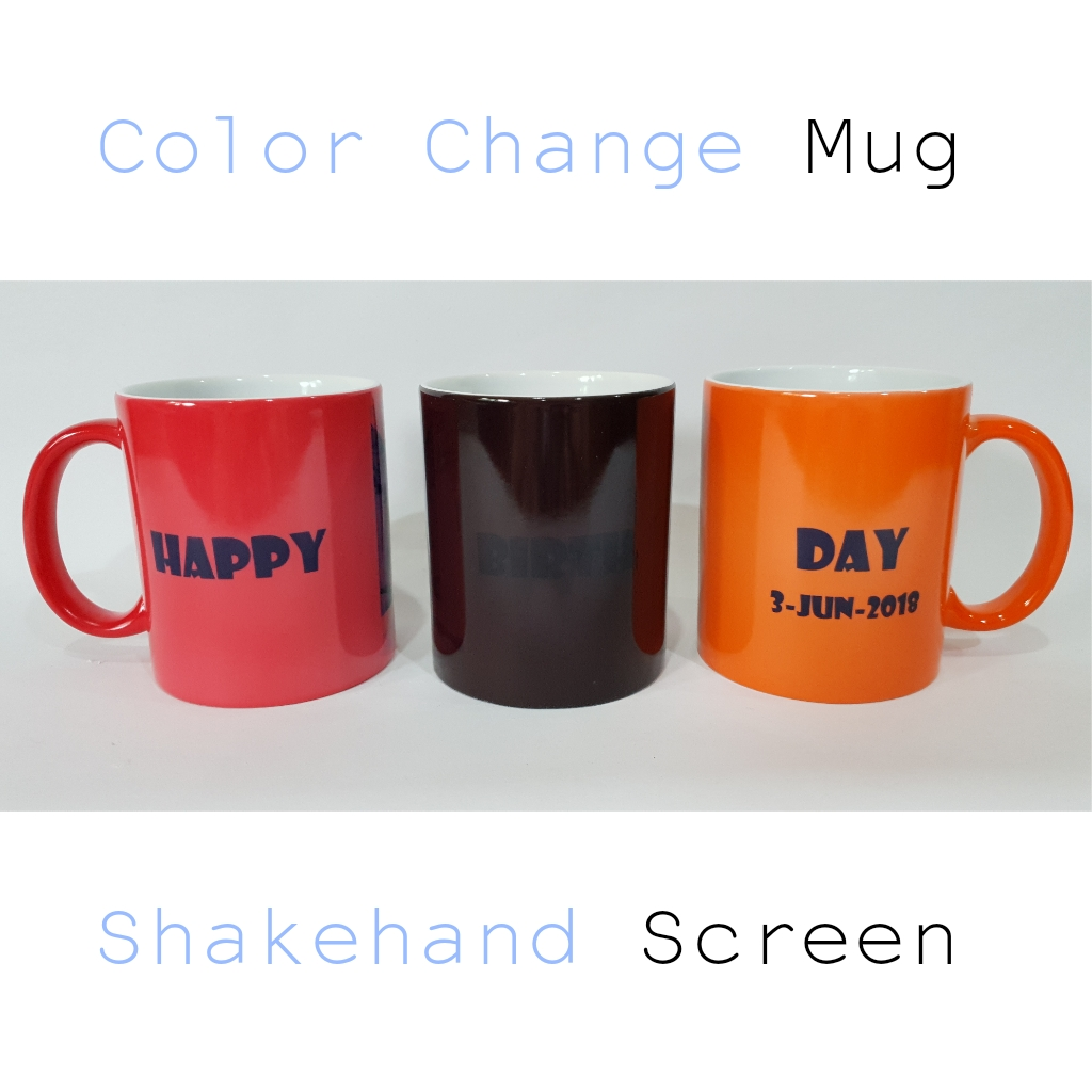 แก้วเซรามิคเปลี่ยนสีได้พร้อมสกรีน