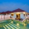 บ้านนิภา(นิภา3 สีฟ้าเข้ม) พูลวิลล่า หัวหิน 3 ห้องนอน 2 ห้องน้ำ