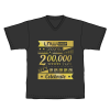เสื้อยืด ฉลอง 200,000 ร้านค้าเทพ