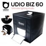 UDIO BIZ 60x60x60 สตูดิโอพกพาแบบกระเป๋า พร้อมไฟ LED 4 แถวในตัว พับเก็บเปิดใช้งานได้ภายใน 10 วินาที