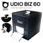 UDIO BIZ 60x60x60 สตูดิโอพกพาแบบกระเป๋า พร้อมไฟ LED 4 แถวในตัว พับเก็บเปิดใช้งานได้ภายใน 10 วินาที thumbnail 1