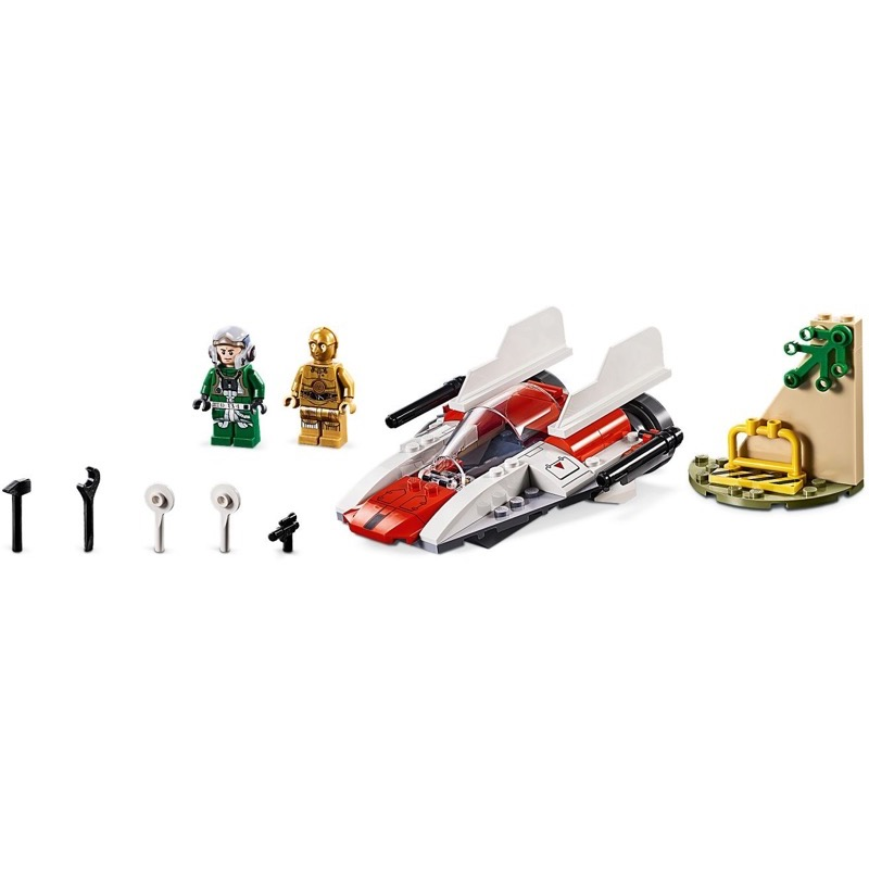 Lego star wars rebel A-Wing Starfighter Jouet vaisseau with Special Starter 75247